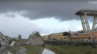 Kard. Bagnasco spotkał się zrodzinami ofiar zawalonego wiaduktu