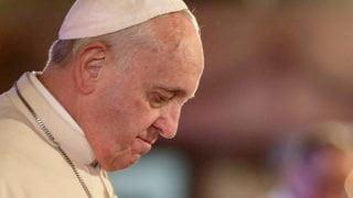 Papież wzywa domodlitwy ipokuty zagrzechy ludzi Kościoła