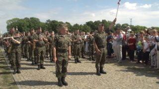 NaJasną Górę pielgrzymują też żołnierze