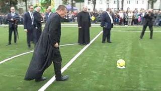 Jak abp Ryś strzelił gola bramkarzowi Widzewa