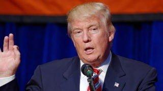 Prezydent Trump broni Papieża Franciszka