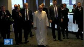 Franciszek przybył naŁotwę
