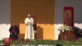 Franciszek wPiazza Armerina zachęca doodnowy Kościoła