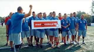 Reprezentacja Polski Amp Futbol wsparła Most doNieba