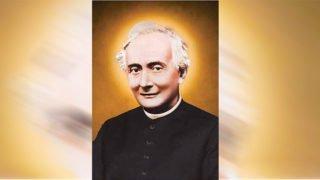 Ks.Franciszek Spinelli. Nakolanach przedNajświętszym Sakramentem