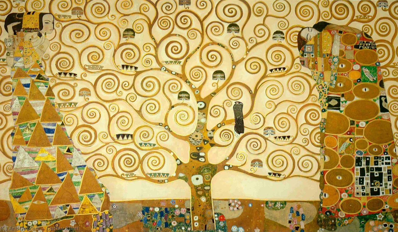 Gustaw Klimt, L'Arbre de Vie, Drzewo Życia