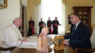 Prezydent RP naaudiencji upapieża Franciszka