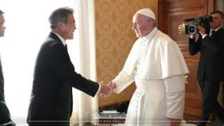 Papież przyjął prezydenta Korei Płd