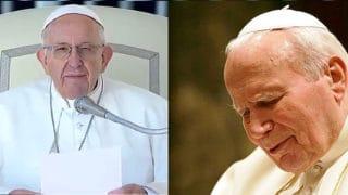 Franciszek na40. rocznicę wyboru Jana Pawła II