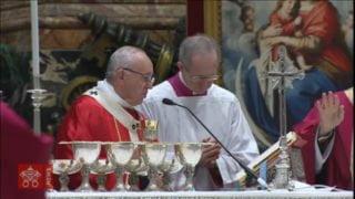 Papież sprawował Mszę zazmarłych kardynałów ibiskupów