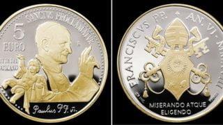 Watykan uczcił kanonizację Pawła VI monetą 5euro