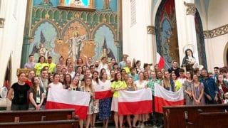 Polska Msza św.wPanamie: ŚDM toczas łaski