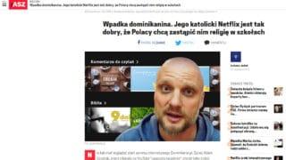 """AszDziennik ciepło o""""katolickim Netflixie"""""""