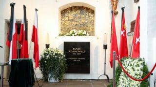 Gdańsk: Paweł Adamowicz spoczął wBazylice Mariackiej