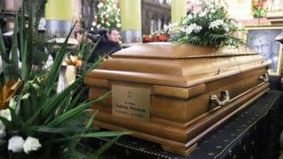 WKrakowie rozpoczęły się uroczystości pogrzebowe bp. Tadeusza Pieronka