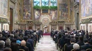 Franciszek przyjął ambasadorów przy Watykanie