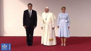 Franciszek już wPanamie!