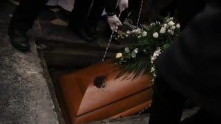 BpPieronek spoczął wkrypcie kościoła św.Piotra iPawła