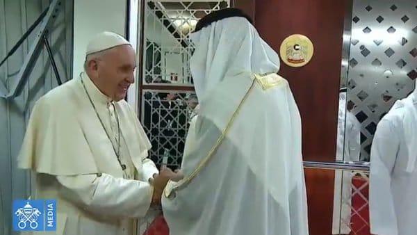 Franciszek wEmiratach Arabskich