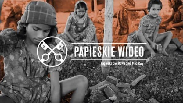 Papież Franciszek apeluje ozwalczanie handlu ludźmi