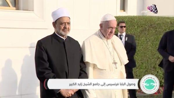 Papież spotkał się zMuzułmańską Radą Starszych