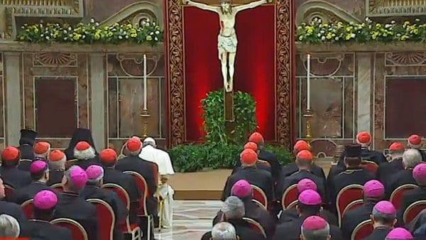 Papież przewodniczył nabożeństwu pokutnemu zagrzechy seksualne duchownych