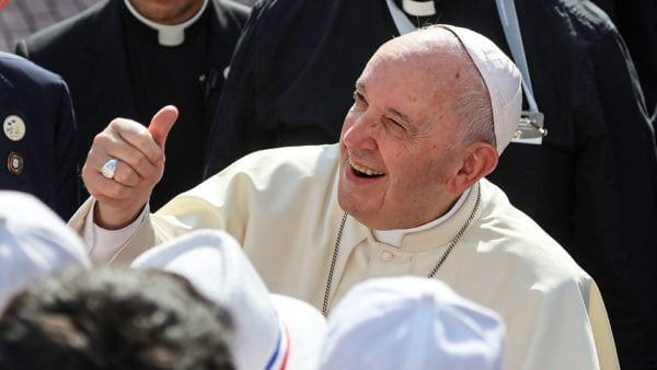 Pontyfikat Franciszka wliczbach