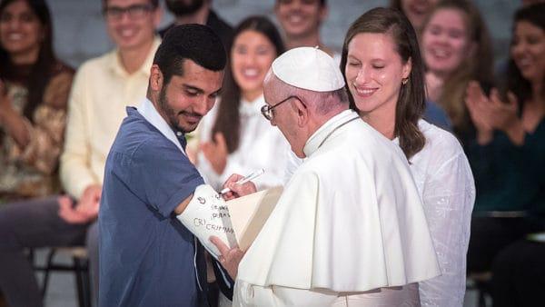 Oco najczęściej prosi papież Franciszek?
