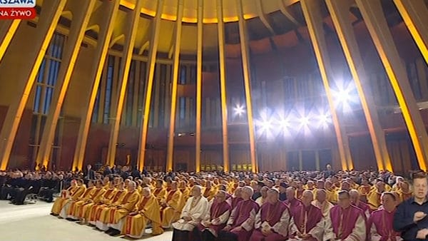 Warszawa: rozpoczęła się Msza święta zapapieża Franciszka