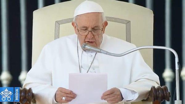 """Franciszek o""""Przyjdź Królestwo Twoje"""""""