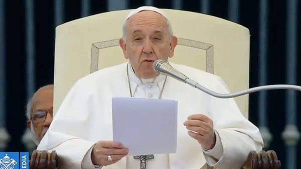 "Franciszek o""odpuść nam nasze winy"""