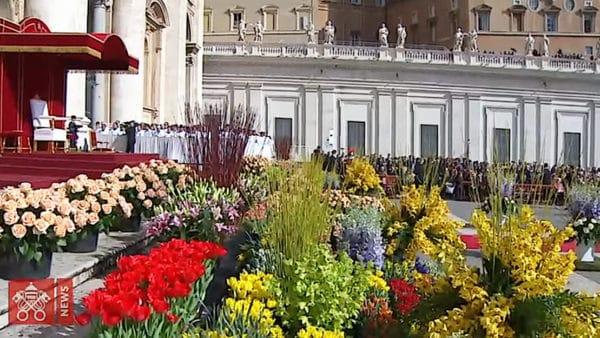 55 tys. kwiatów naWielkanoc wWatykanie