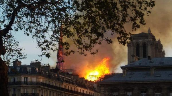 """""""Katedra Notre-Dame zostanie odbudowana"""""""