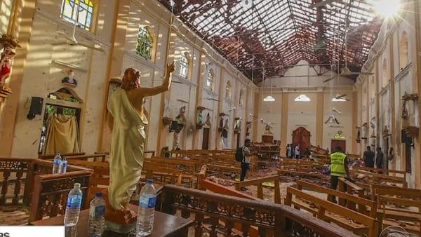 Rośnie liczba ofiar niedzielnych zamachów naSri Lance