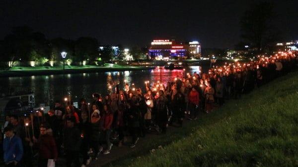 Akademicka Droga Światła przeszła ulicami Krakowa