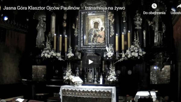 Msza św.zaMamy naJasnej Górze [TRANSMISJA]
