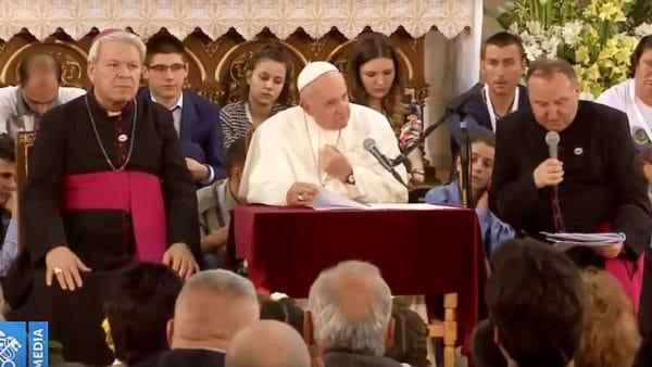 Ciepłe spotkanie papieża zbułgarskimi katolikami