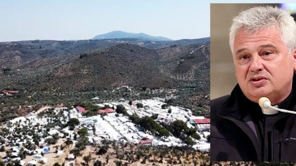Kard. Krajewski jedzie zmisją doobozów dla uchodźców naLesbos
