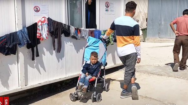 100 tys. dolarów odFranciszka dla uchodźców naLesbos