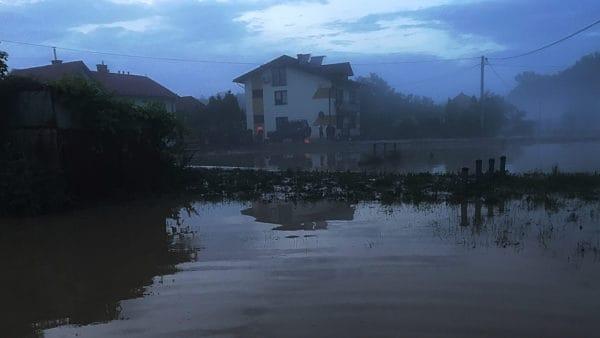 Burza spustoszyła Wierzchowiska, Caritas pomaga