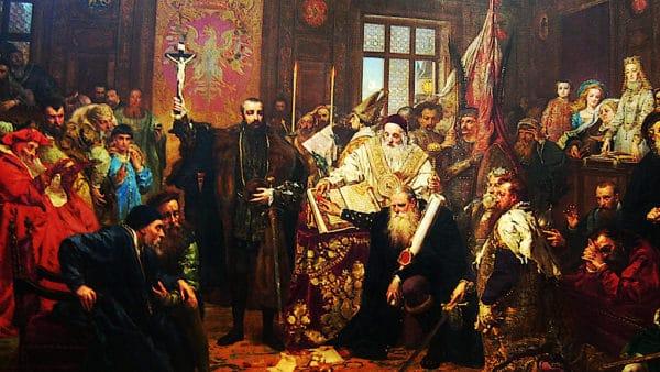 450. rocznica unii polsko-litewskiej. Obchody wLublinie
