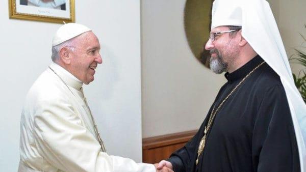 Papież spotkał się zUkraińskim Kościołem greckokatolickim