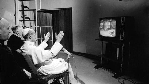 50 lat temu ówczesny papież też śledził lądowanie ludzi na Księżycu