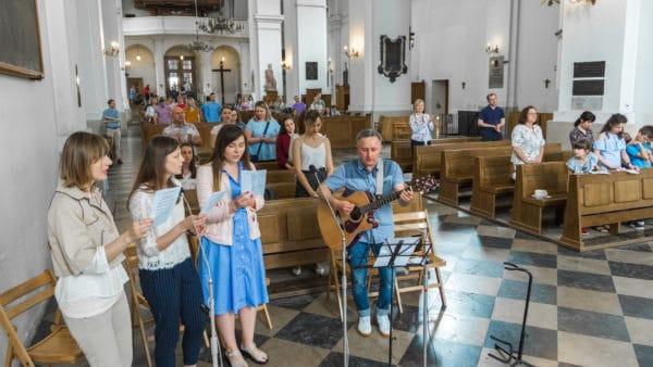Daleko oddomu, blisko Boga. Ukraińscy katolicy wWarszawie