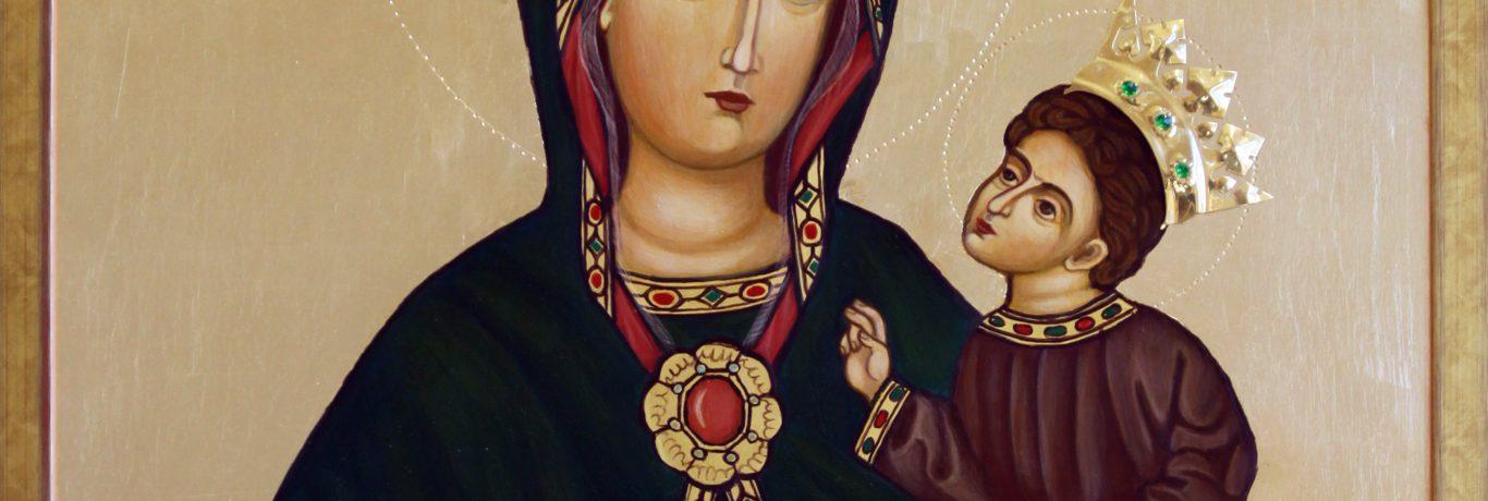 Ikona Matki Bożej Rychwałdzkiej, wyk. Krzysztof Pado, fot. Marzena Frołow
